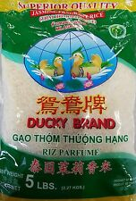 THAI JASMINE RICE (5 LB) Ducky Brand (Free Shipping)