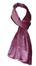 Rose poudrée velours longue écharpe Wrap étole de mariage soirée neuf