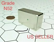 Neodymium N52 Block Magnet Rare Earth Super Strong 40mm x 25mm
