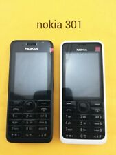 Nokia Asha 301 black white Unlocked Dual Sim 3G Bluetooth Button Mobile Phone