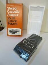 Vintage Realistic Radio Shack Stereo Cassette Adapter for 8 Track Player NOS