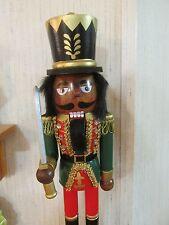 African American Christmas  Nutcracker Ethnic Black Royal King Guard