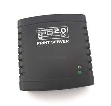 Hot USB 2.0 Ethernet WiFi Network LPR Print Server Printer Share Hub Adapter