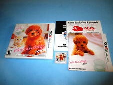 Nintendogs + Cats Toy Poodle & New Friends (Nintendo 3DS) XL 2DS w/Case & Manual