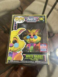 WHITE RABBIT Black Light FUNKON 2021 Funko Pop Alice In Wonderland IN HAND Mint
