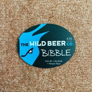Wild Beer Co. Bibble Pump Clip Brand New & Unused Breweriana