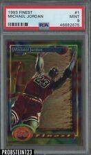 1993 Finest #1 Michael Jordan Bulls HOF PSA 9 MINT