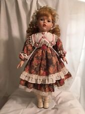 "Porcelain Doll 20"" tall Kayla"