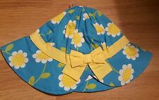Gymboree baby girls blue  sunhat 18- 24 months bnwt