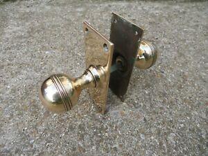1930s Brass Door Handle related mortise lock key hinges letterbox knocker knobs