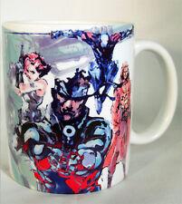 METAL GEAR SOLID - Coffee MUG - CUP solid snake - MGS1 - MGS - 5 V 3