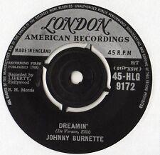 """Johnny Burnette - Dreamin 7"""" Single 1960"""