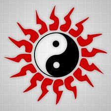 Chinese Tribal Sun decal Chinese Yin Yang,Martial Arts Taekwondo wall sticker