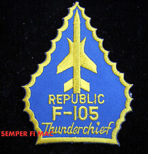 F-105 THUNDERCHIEF REPUBLIC HAT PATCH USAF NAM VET THUD PIN UP THUNDERBIRDS GIFT
