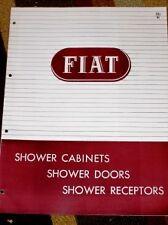 Vtg Fiat Metal Mfg Co Catalog-Shower Cabinets/Doors '50