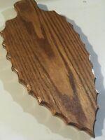 ARROWHEAD  WALL  PLAQUE  {Solid Red Oak}