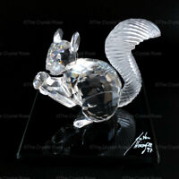 RARE Retired Swarovski Crystal Squirrel 10th SCS Anniversary 1997 208433 Mint