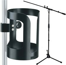 K&M 16022 Universal Getränkehalter + KEEPDRUM Mikrofonständer MS107B