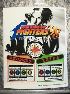 King Of Fighters '98 (1998) Neo Geo Mini Arcade Marquee