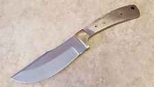 Knife Making Fixed Blade Blank Full Tang Carbon Steel Skiiner