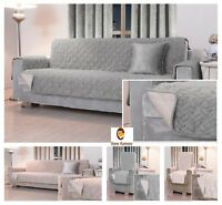 Soft Plush Fur Quilted Water Resistant non Slip Furniture Sofa Chair Protector