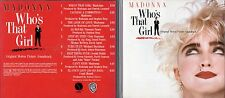 Who`s That Girl Soundtrack CD - 1987 Sire No Bar Code USA - Madonna Dunan Faure