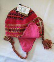 Steve Madden Boho Chic Winter Hat Fringe Multicolor Beanie One Size New Tag