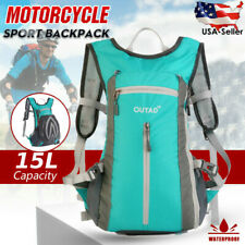 Hydration Backpack 15L - Lightweight Pack for Hiking Riding Camping US Stock