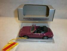 NZG Porsche 911 Carrera Cabriolet violet En parfait état, dans sa boîte 1:43