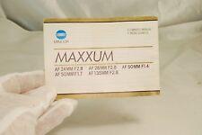 Minolta Maxxum AF Lens Owner's Manual EN FR 7119018