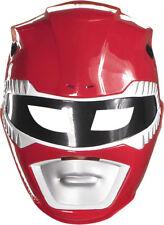 Morris Costumes Men's Red Ranger Vacuform Mask. DG24641