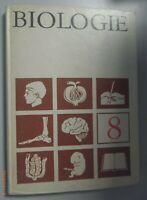 Biologie Klasse 8, Volk und Wissen 1973,  DDR-Lehrbuch