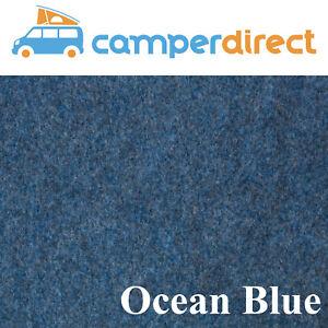 10 Sq Mtrs Blue Van Lining Carpet Kit 4 Way Stretch Inc 5 Tins High Temp Spray