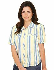 Cotton Blouses Striped Tops & Shirts for Women