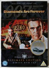DIAMONDS ARE FOREVER / JAMES BOND / SEAN CONNERY / 2 DISC ULTIMATE EDITION / R2