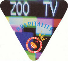 U2 1992 Zoo Tv Outside Broadcast Backstage Pass