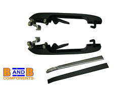 VW GOLF JETTA MK2 REAR DOOR HANDLES PAIR 193839205 A750