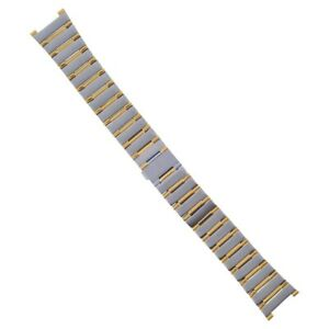 22MM WATCH BAND FOR MENS OMEGA CONSTELLATION 396.1070 396.1080  6553/865 TWO TON