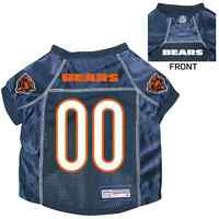 NEW CHICAGO BEARS PET DOG PREMIUM NFL JERSEY w/NAME TAG ALL SIZES