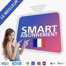IP_TV Smarters Pro Abonnement 12 mois (M3U✔️SMART TV✔️ANDROID✔️MAG) 😱19 EURO😱