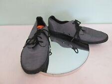 SuperDry Canvas Shoes Mens Size 10 Grey & Black Cotton