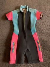 Rip Curl Vintage Women's Wet suit 1980's made in Aust EXC