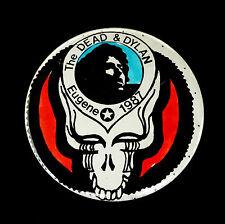Grateful Dead Bob Dylan & The Dead Pin Oregon Ducks Eugene 7/19/1987 Or Pinback