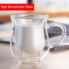 Coffee Double Wall Espresso Thermo Clear Glass Cup Mug Tea Mug Beer Milk Water