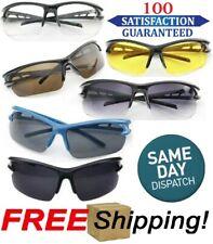 New Sports Eyewear Polarized Outdoor Driving Sunglasses Wrap Around Men Glasses