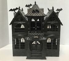 Large Yankee Candle Haunted House Mansion 2007/2008 Metal Tin Halloween tealight
