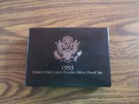 1993-S U.S. Premier Silver Proof Set
