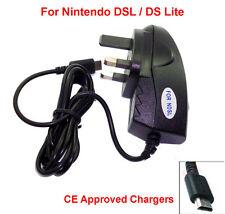CE aprobado red rápido con alimentación NINTENDO DS LITE NDS NDSL DSL Cargador Adaptador De Enchufe