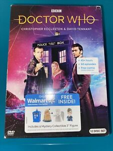 Doctor Who Series 1-4 Set DVD NEW-12 Disc Set SEALED