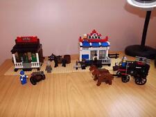 T116: LEGO 6765 GOLD CITY Junction 99.5% completo di istruzioni